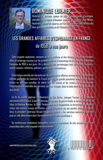 Les grandes affaires d'espionnage en France: de 1958 à nos jours